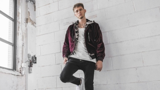 Machine Gun Kelly Cleans Up Well In Reebok Classic's New Club C Sneaker Campaign