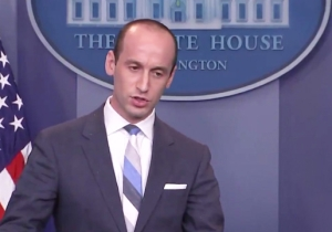 A Huffy Stephen Miller Made A Rare Public Appearance And Berated A New York Times Reporter Over Immigration