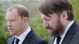 The Trailer For David Mitchell And Robert Webb's New Comedy Series, 'Back,' Has Arrived