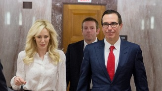 Treasury Secretary Steven Mnuchin And Louise Linton Reportedly Used A Government Plane To View The Eclipse