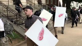 The Detroit Red Wings Issued A Statement Denouncing Nazis Using A Version Of Their Logo In Charlottesville