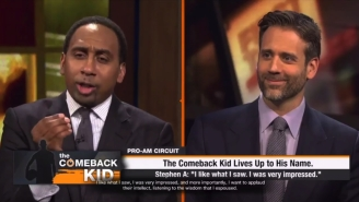 It Looks Like ESPN's 'First Take' And Stephen A Smith Will Be Featured In 'NBA Live 18'