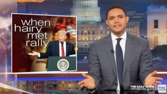Trevor Noah Shines A Light On Trump's 'Outstanding Rejection of Sanity' At His Rally In Phoenix