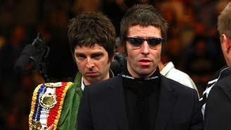 The Oasis Feud Started When A Drunk And High 15-Year-Old Liam Gallagher Peed On His Brother's Speakers
