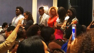 Black Journalists Turned Their Backs On Omarosa During A Panel On Police Brutality