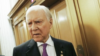 People Can't Handle Senator Orrin Hatch Claiming Republicans 'Shot Their Wad' Trying To Repeal Obamacare
