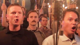 A White Supremacist Charlottesville Marcher Who Went Viral Quit His College Job: 'I Just Want A Peaceful Year'