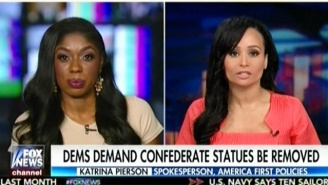 Katrina Pierson Shocks A Fellow Fox News Guest While Arguing That Slavery Is 'Good History' For The U.S.