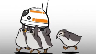 'Star Wars' Showcases Porgs In A Cute Short Film About Kidnapping BB-8