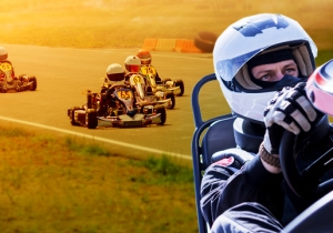 Learning To Live In The Moment In The Seat Of A Gas-Powered Go Kart