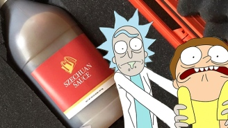A 'Rick And Morty' Fan Laid Down Some Serious Cash For A Jug Of McDonald's Szechuan Sauce On Ebay
