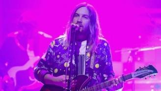Tame Impala Bring Mesmerizing Psychedelic Vibes To 'The Tonight Show' While Performing 'Love/Paranoia'