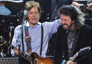 Foo Fighters Got Paul McCartney To Play Drums On Their Upcoming Album 'Concrete And Gold'