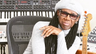 Nile Rodgers Was Hospitalized But Tried To Sneak Out And Make It To A Chic Concert Anyway