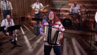 John Oliver Enlists Weird Al To Musically Ask North Korea, 'Please Don't Nuke Us'