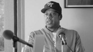 Stream Part Two Of Jay-Z's Lengthy Appearance On The Rap Radar Podcast