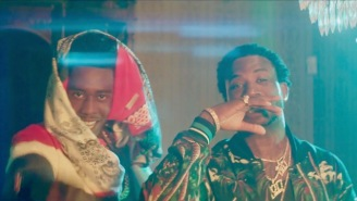 Desiinger Parties With Gucci Mane In A Creepy Mansion Out In The Middle Of Nowhere In The 'Liife' Video