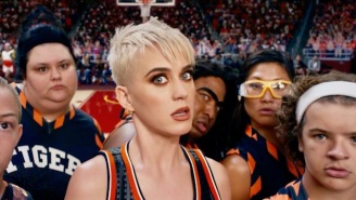 Katy Perry's 'Swish Swish' Video Featuring Nicki Minaj Is The Zaniest Basketball Game Since 'Space Jam'