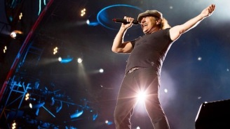 AC/DC Singer Brian Johnson Made A Surprising And Triumphant Return To The Stage During A Muse Concert