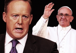Sean Spicer Finally Meets Pope Francis After Trump Reportedly Sidelined Him During A Previous Papal Visit