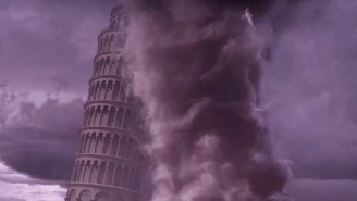 While You Were Watching 'Game Of Thrones,' A Sharknado Fixed The Leaning Tower Of Pisa In 'Sharknado 5'