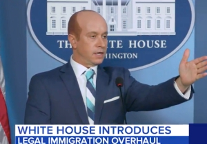 Pauly Shore Transforms Into Stephen Miller For Funny Or Die To Set The Record Straight On The Statue Of Liberty