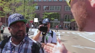 Watch Bun B Of UGK Confront A Trump Supporter Who Flipped Him Off