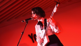St. Vincent Debuted The Thumping, Psychedelic New Song 'LA' While Performing In Tokyo