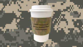 Starbucks Is Using Camouflage Coffee Sleeves To Fight Faux Outrage