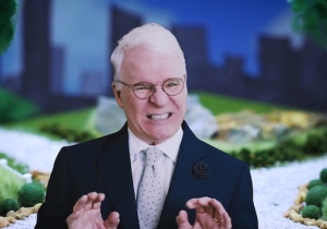 Steve Martin's Quirky New 'Caroline' Video Stars Bill Hader And Cecily Strong As Former Lovers
