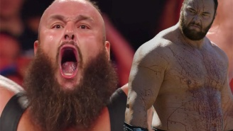 Braun Strowman And The Mountain From 'Game Of Thrones' Hanging Out Is Absolutely Terrifying