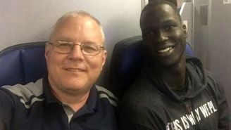 Bucks Forward Thon Maker And Kyle Kuzma's Cousin Paired Up To Save A Delayed United Flight