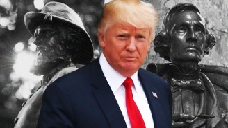 Trump Laments The 'Foolish' Removal Of The Country's 'Beautiful' Confederate Statues And Monuments