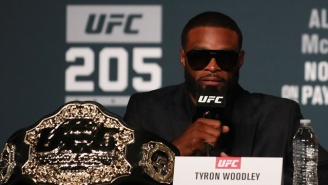 Tyron Woodley Threatens To 'Leak Some Sh*t' If Dana White Doesn't Apologize To Him