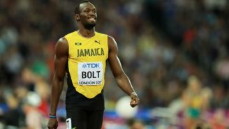 Gatorade Honored Usain Bolt As The Fastest Ever For His Final 100M Race