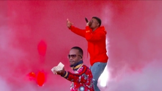 Vince Staples And Juicy J Keep The Money Phone Alive In A Late Night Performance Of 'Big Fish'