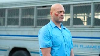 Vince Vaughn Punches Apart A Car 'Street Fighter' Style In The Moody Trailer For 'Brawl In Cell Block 99'