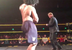 William Regal Showed Off His Dance Moves At An NXT House Show