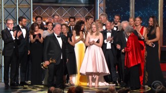 'The Handmaid's Tale' Becomes The First Streaming Show To Win Outstanding Drama Series At The Emmys