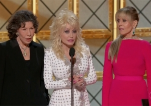 The Emmy's '9 To 5' Reunion Throws Serious Shade At Donald Trump
