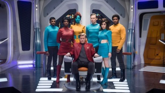 New 'Black Mirror' Season 4 Photos Offer Another Peek At The Upcoming 'Star Trek' Spoof