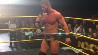 Watch Bobby Roode Bid Farewell To The NXT Universe