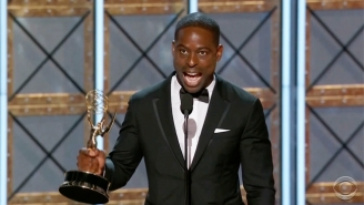 Sterling K. Brown Shout-Outs Past Winners As He Accepts The Best Drama Actor Emmy