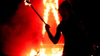 A Burning Man Attendee Died After Running Into The Festival's Burning Effigy