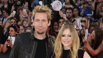 Watch Avril Lavigne Join Her Ex-Husband Chad Kroeger And Nickelback To Perform 'Rockstar' Live