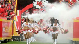 An Unsuspecting Chiefs Cheerleader Got Trucked By A Cameraman