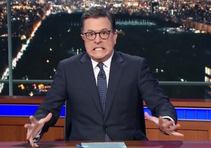 Stephen Colbert Shows Solidarity With MSNBC's Lawrence O'Donnell By Leaking His Own Fiery On-Set Outburst