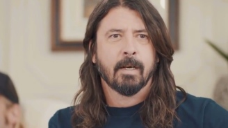 Dave Grohl Does A Hilarious Christopher Walken Impression While Talking About Trolling Him On 'SNL'