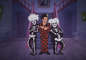 David S. Pumpkins Is Getting His Very Own Halloween Animated Special