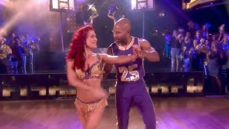 Check Out Derek Fisher's Basketball Dribbling, Partner-Spinning 'DWTS' Routine